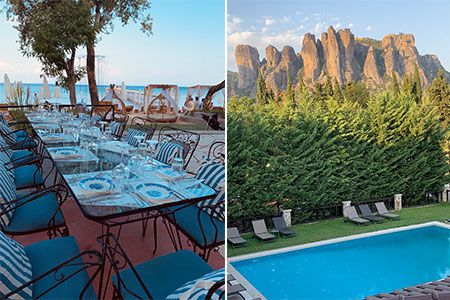 Greek-Sketching-holiday-2021-dinner-and-pool