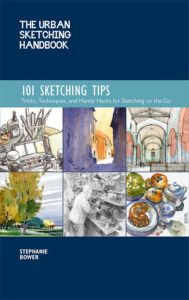 sketching tips Stephanie Bower Croatia tour