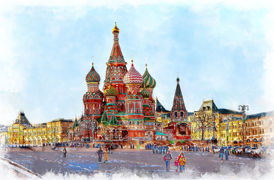 sketching tour Russia Moscow Ian Fennelly