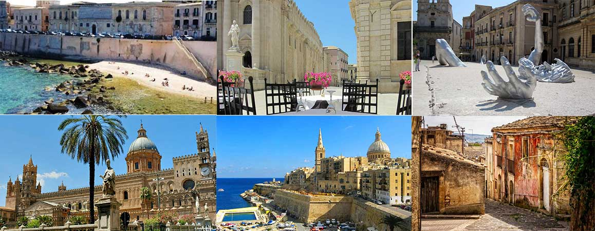 Ian Fennelly Sicily to Malta sketching tour 2021