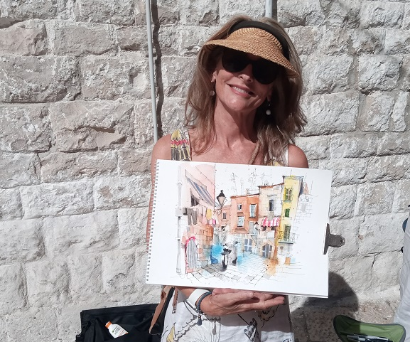 french fusion travel sketching tours