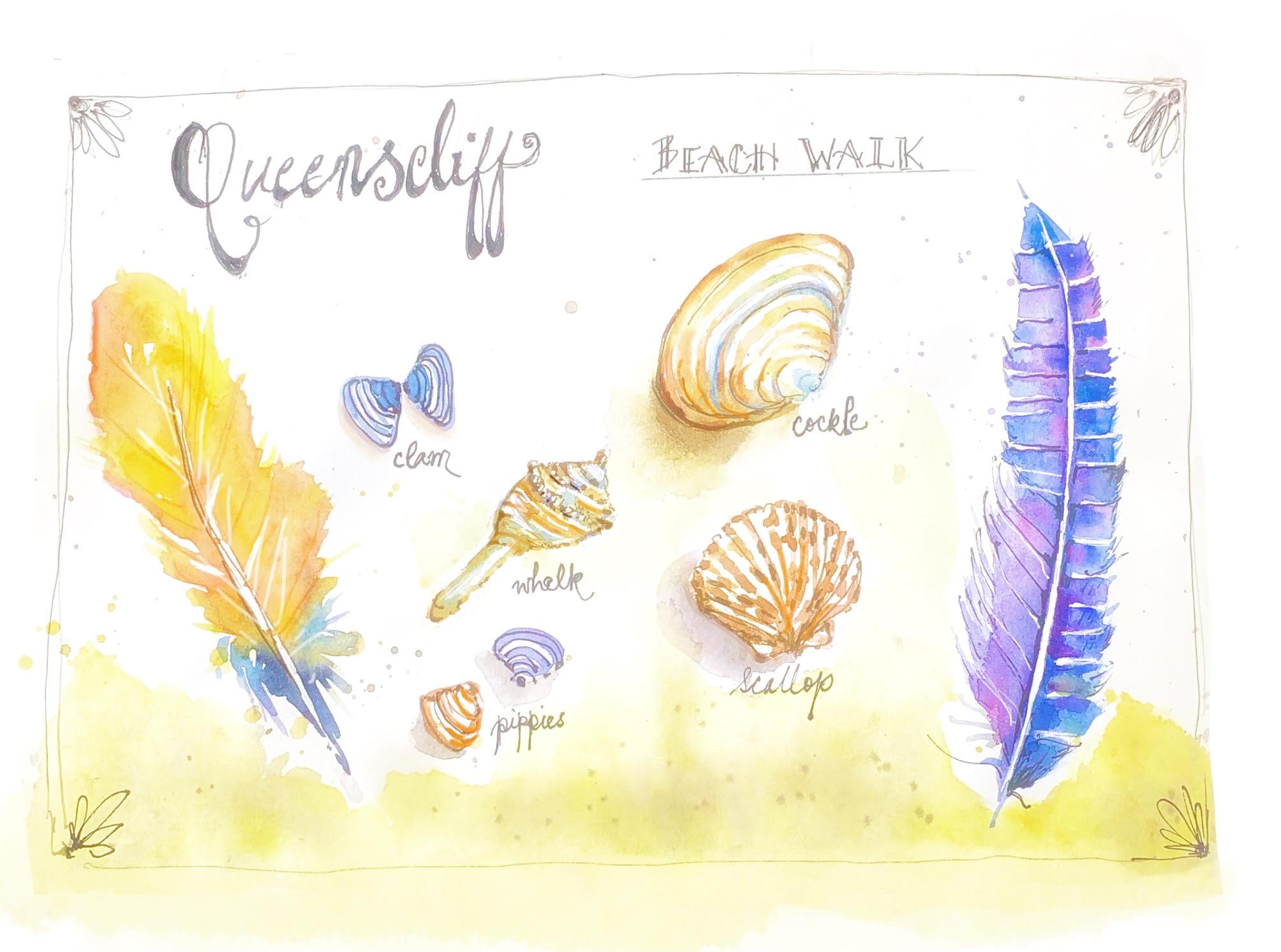 creative travel journal workshop Quuenscliff