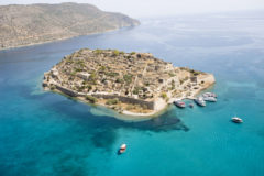 Spinalonga island Greece